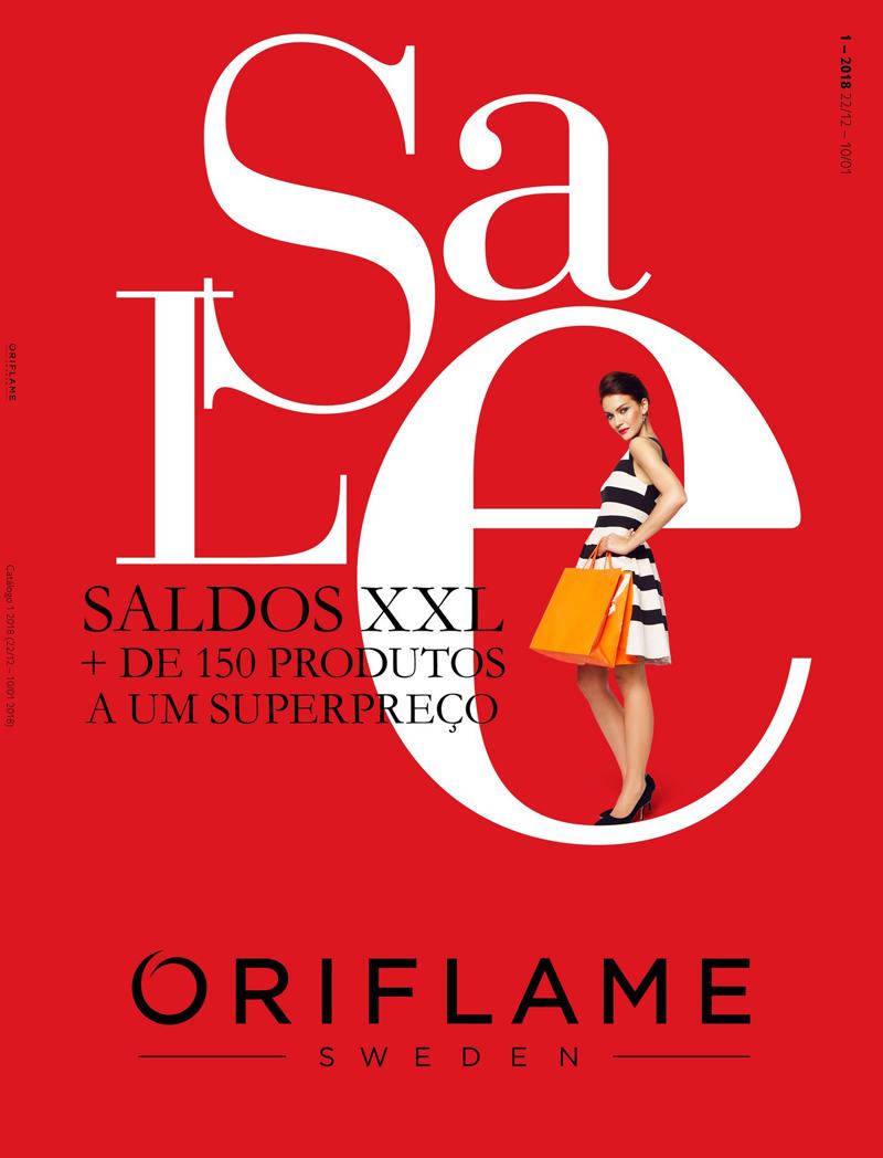 Catálogo 01 de 2018 da Oriflame