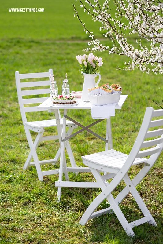 Ideen und Rezepte für Frühlingsbrunch in der Natur
