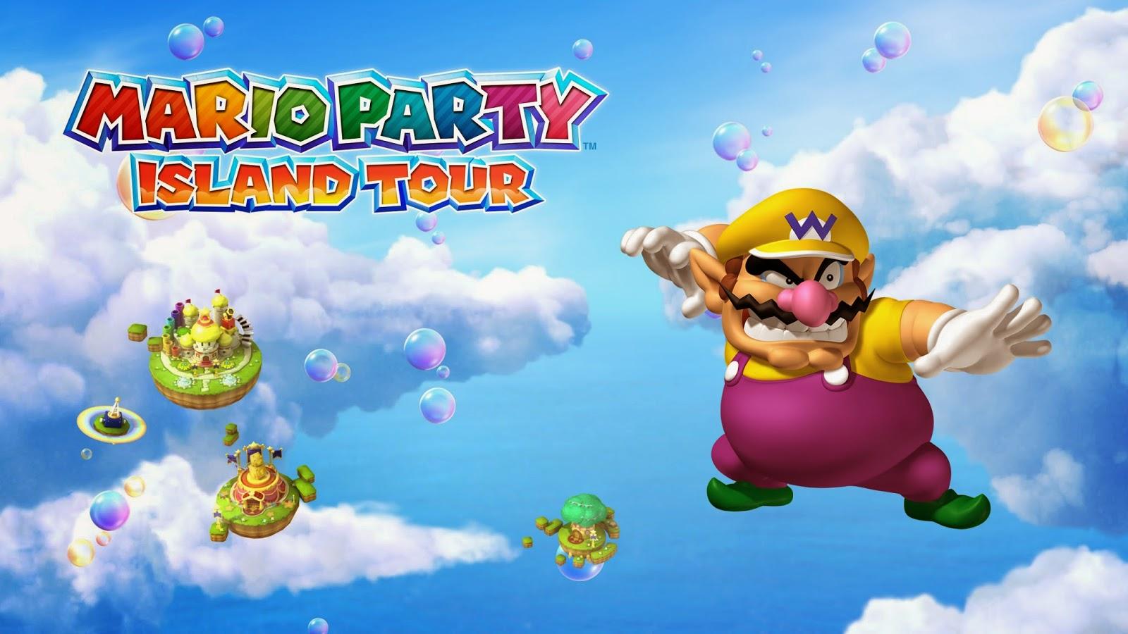 My Super Mario Boy Mario Party Island Tour Wallpapers