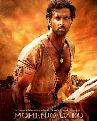 Poster Of Bollywood Movie Mohenjo Daro 2016 300MB DVDScr Full Hindi Movie