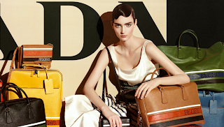 Prada's New S/S 2011 Saffiano Leather Striped Line