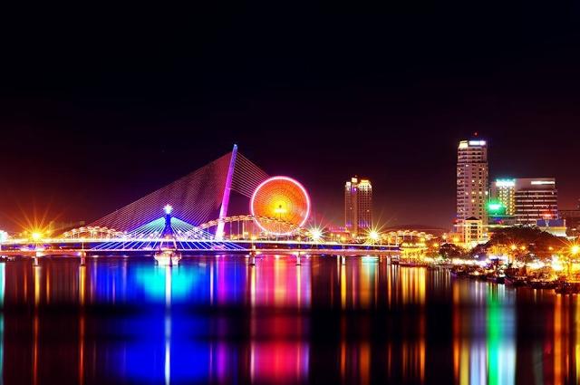 tầm nhìn từ chung cư ra cầu sống Hàn Đà nẵng