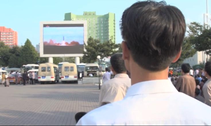 El lanzamiento fue anunciado en Pyongyang un día después para asombro de norcoreanos