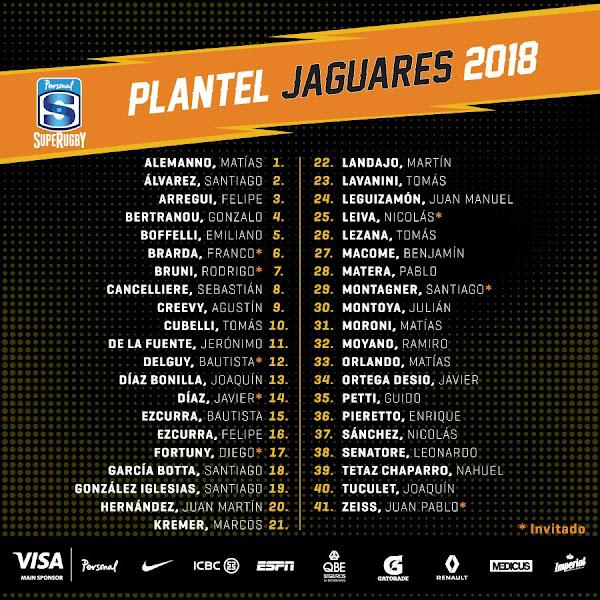 Diego Fortuny se suma a Jaguares y jugará el Super Rugby