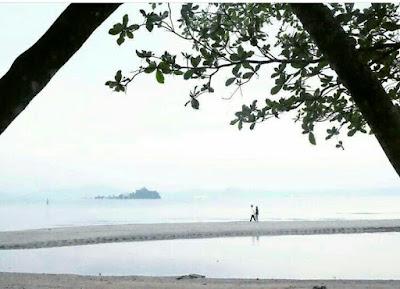 Indahnya Pantai Queen Arta