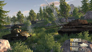 Download Game Mod terbaru for android gratis World Of Steel Tank Force v1.0.5 (Mod Apk Money)
