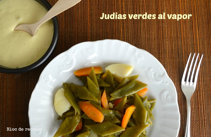 Bloc de recetas jud as verdes al vapor en olla gm f con - Judias verdes en olla express ...