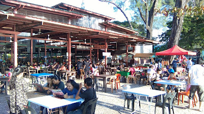 Makan Best Anjung Senja Kota Kinabalu Sabah - Tanjung Aru