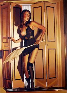 Retratos Desnudos Hiperrealismo Pintura