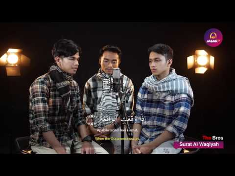 Murottal Trio Qori Muzammil Hasballah, Taqy Malik, Ibrohim Elhaq Al Waqiah