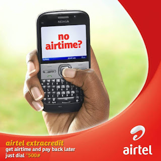 how to borrow data from Airtel