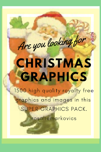 Christmas Graphics Pack- 1500 Royalty Free Images