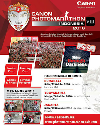 Canon Photo Marathon Indonesia VIII 2016
