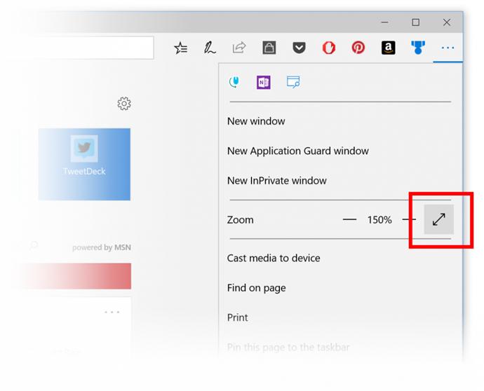 Microsoft Edge on Windows 10 Fall Creators Update to receive Full Screen mode (www.kunal-chowdhury.com)