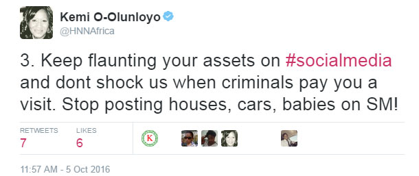 Self-acclaimed journalist Kemi Olunloyo says E-money & Linda Ikeji to be robbed next