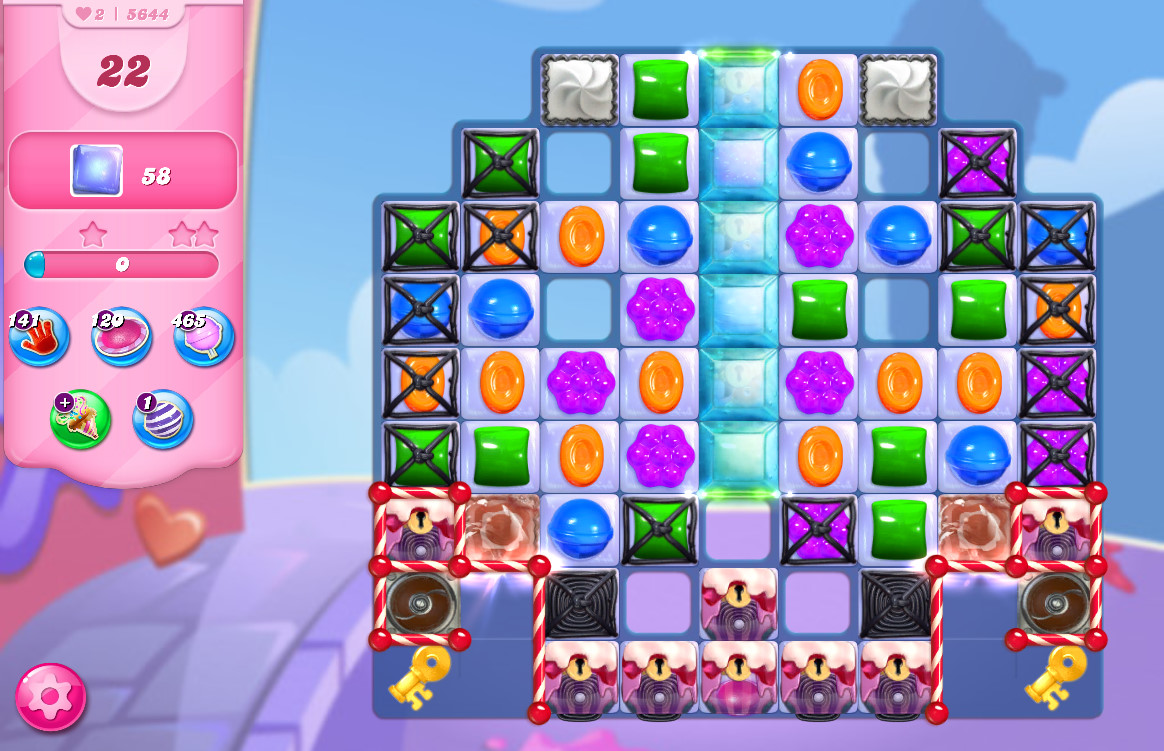 Candy Crush Saga level 5644