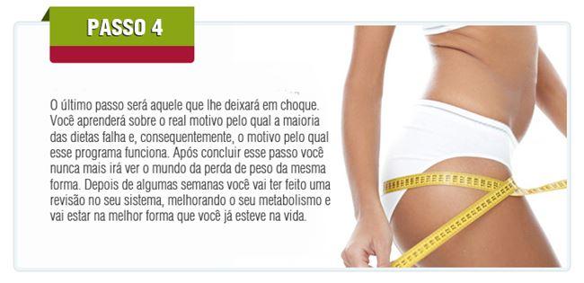 Passo 4 - Por que as dietas falham?