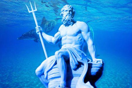 mito de poseidon dios del mar