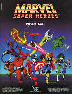 Marvel Superheroes Players Book 1ed