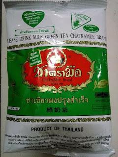Teh Hijau Thailand Number One Chatramue Brand