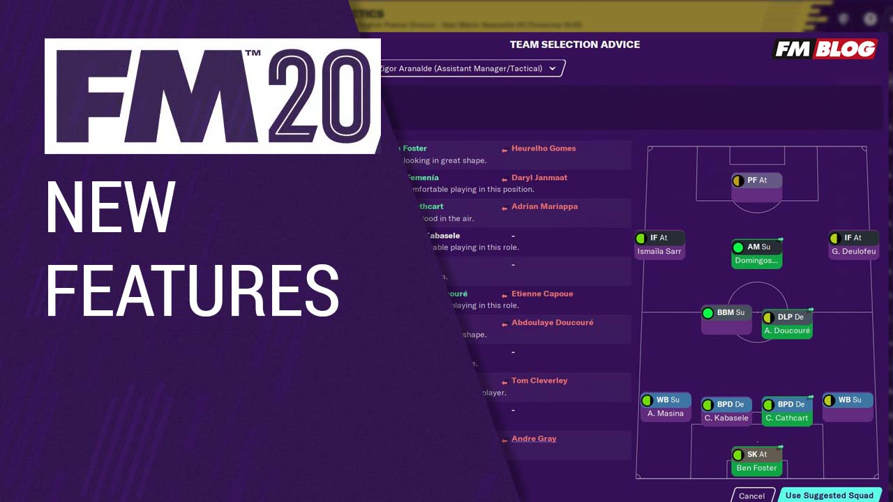 FM20 New Features Revealed
