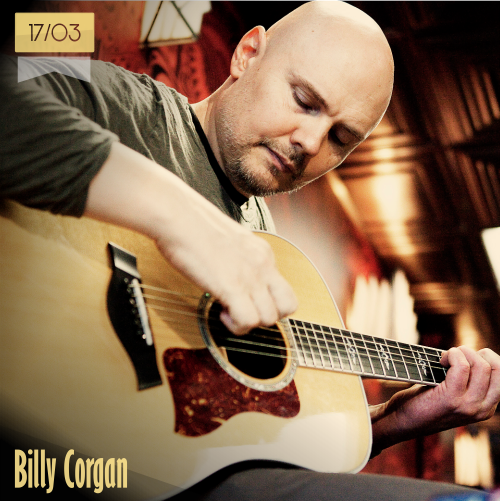 17 de marzo | Billy Corgan - @Billy | Info + vídeos