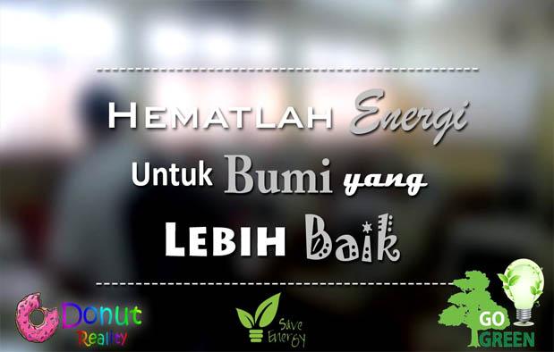 Contoh Iklan Hemat Energi