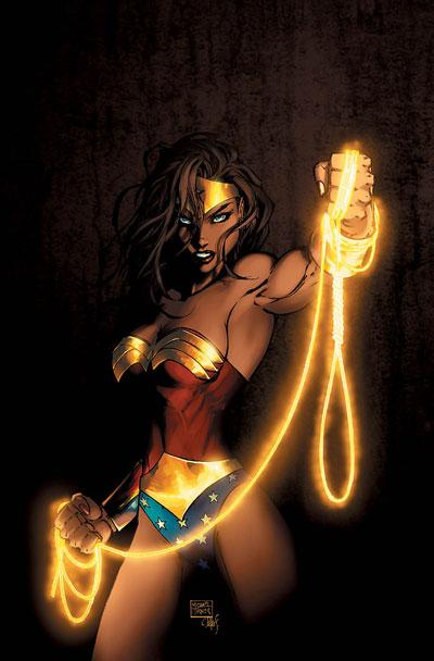 Tcw Reviews Adrianne Palicki In Action As Wonder Woman With New Costume Design