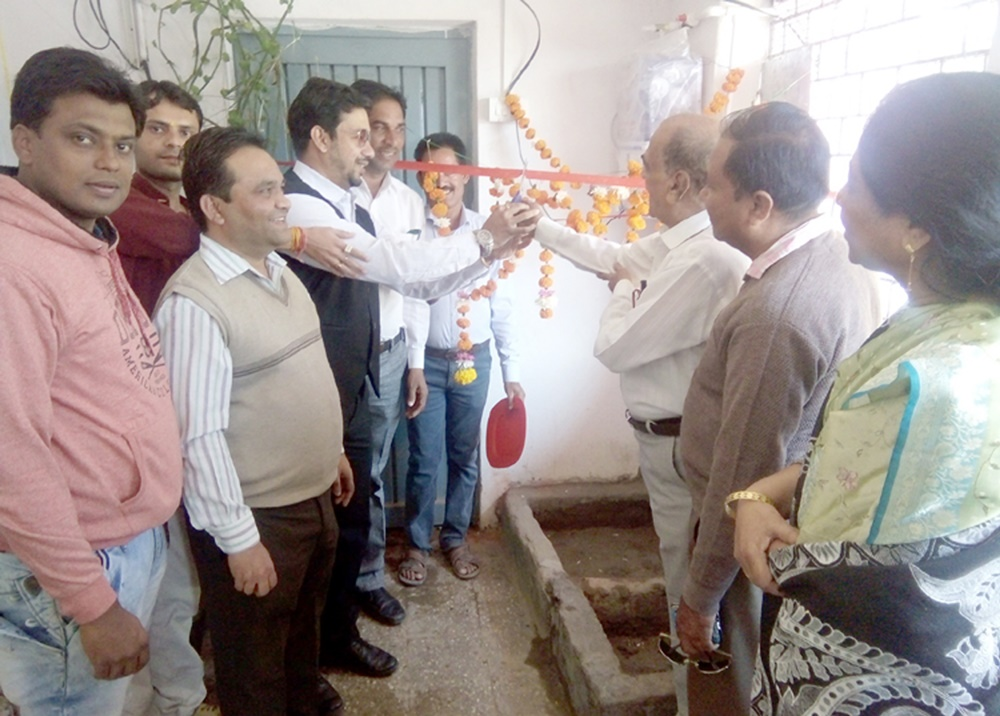 रोटरी क्लब द्वारा हुड़ा स्कूल में प्रदत्त किया वाॅटर प्यूरीफाय सिस्टम-Water-Purify-System-provided-by-the-Rotary-Club-in-the-huda-school