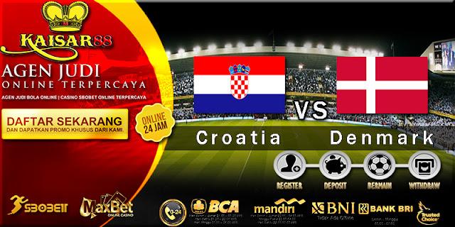 Prediksi Bola Jitu Croatia Vs Denmark 2 Juli 2018