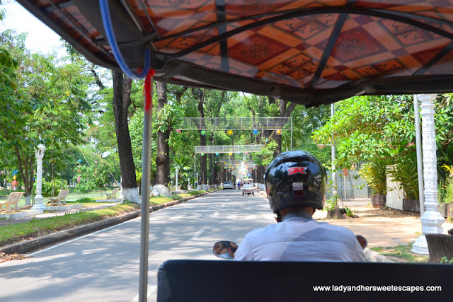 exploring Siem Reap via tuktuk