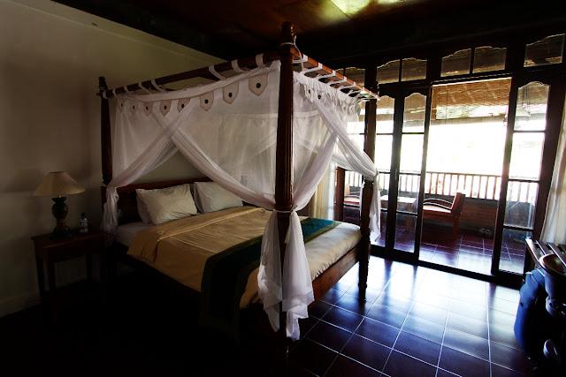 Habitación doble del Hotel Bunga Permai de Ubud (Bali)