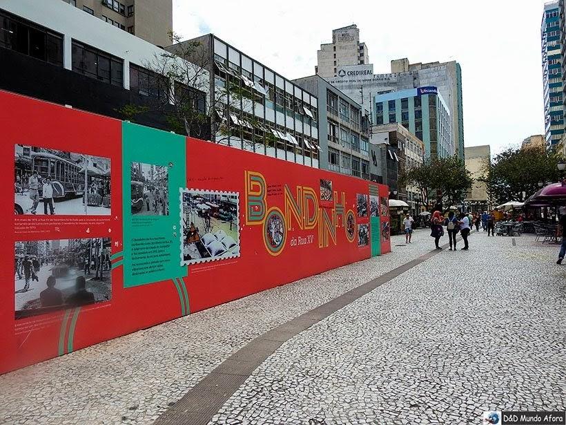 Rua das Flores/XV de Novembro - O que fazer em Curitiba, Paraná