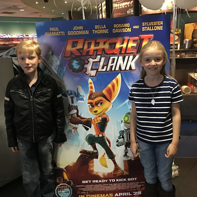 Ratchet and Clank movie, game PS4