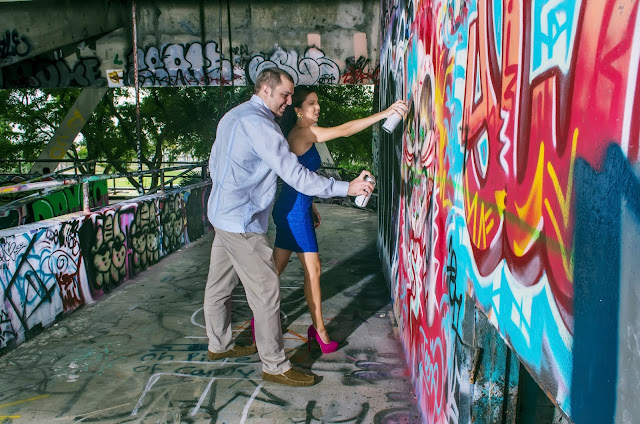 Miami Marine Stadium Engagement photosession