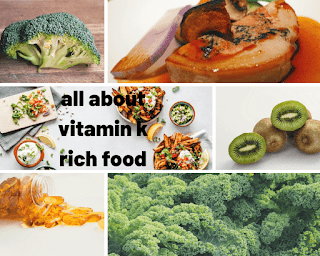 All about vitamin  k rich foods