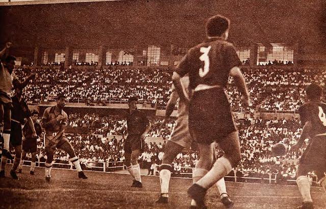 Chile y Brasil en Clasificatorias a Suiza 1954, 28 de febrero