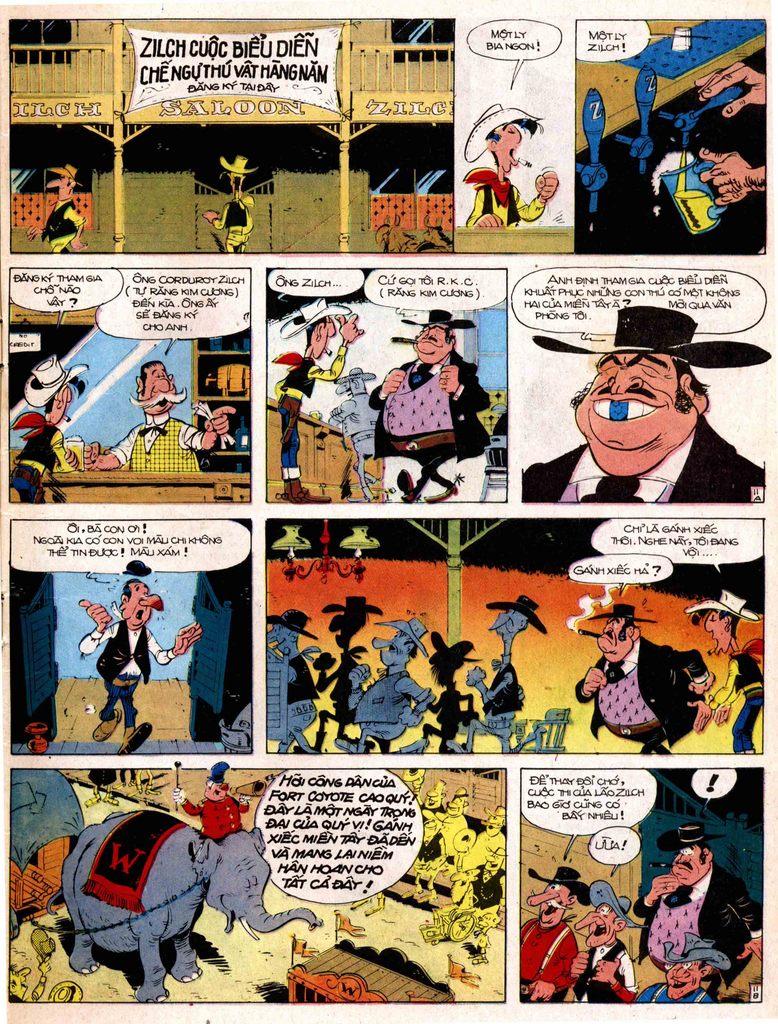Lucky Luke tap 17 - ganh xiec mien vien tay trang 11