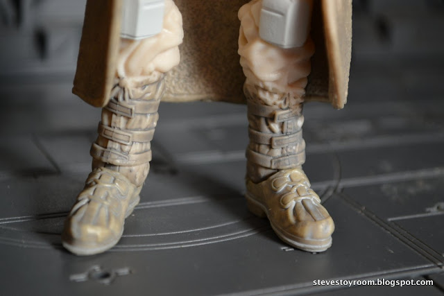 "Snowtrooper Empire Strikes Back 6"" Black Series Shoes"