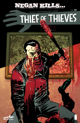 "San Diego Comic-Con 2016 Exclusive ""Negan Kills"" Thief of Thieves #33 Comic Book Variant Cover"