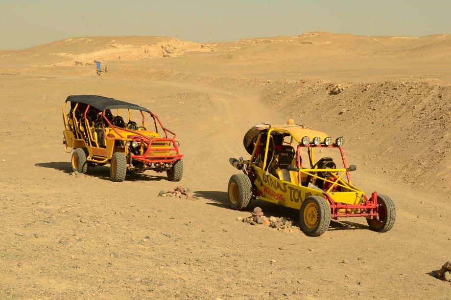 Buggy cars Nazca Peru