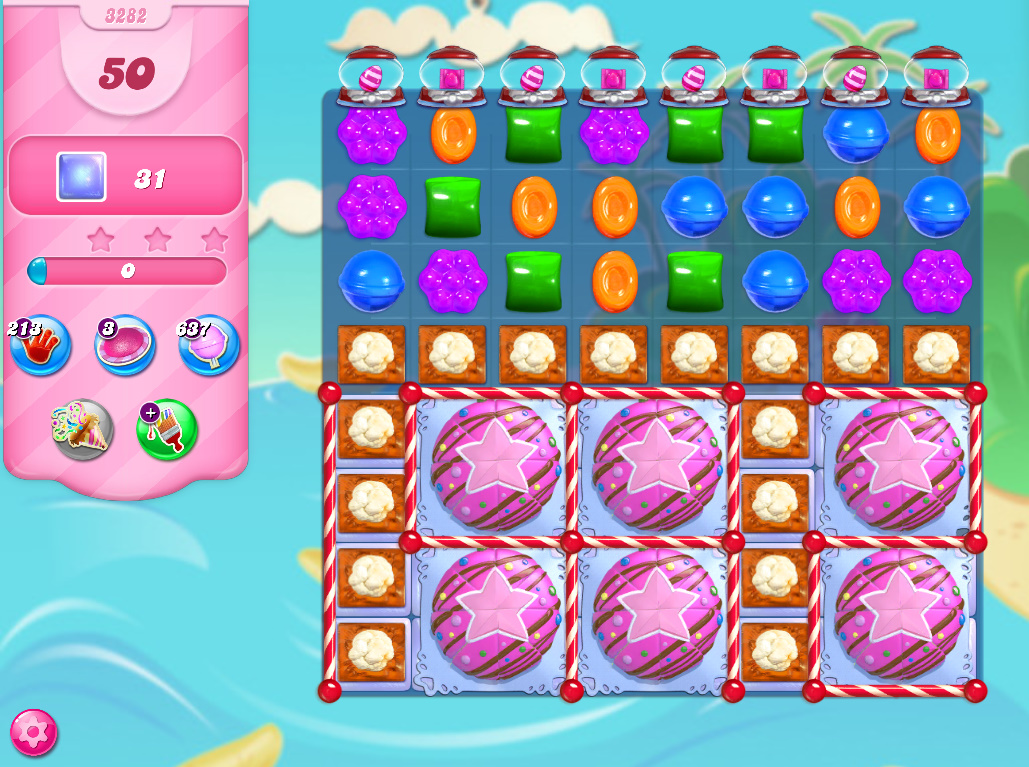 Candy Crush Saga level 3282