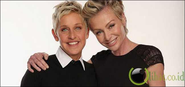 Ellen DeGeneres - Portia de Rossi
