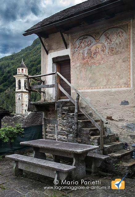 """Sonogno in valle Verzasca, il """"Giudizio Universale"""""""
