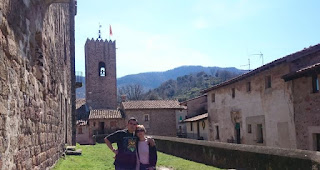 Santa Pau, provincia de Girona.