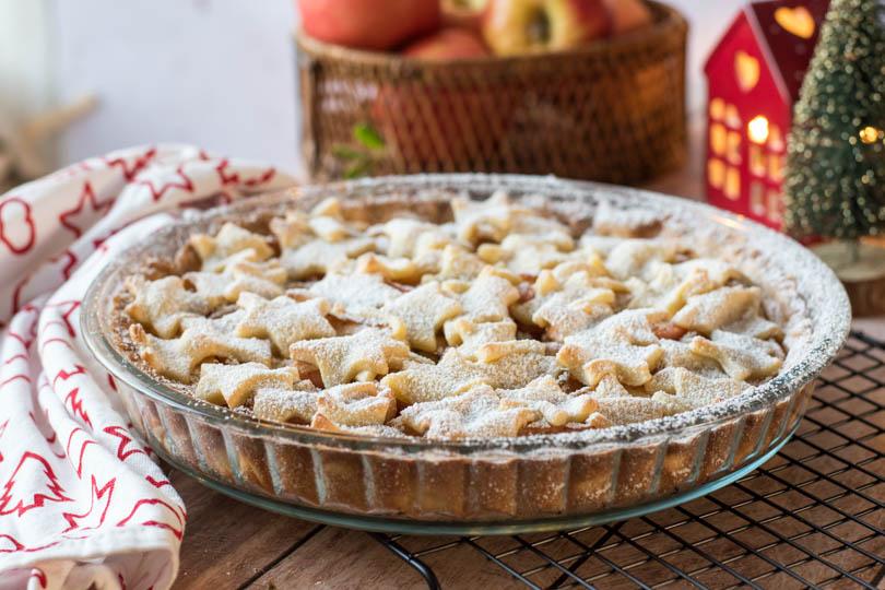 recette Tarte aux pommes aux épices de noël
