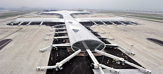 The terminal Fuksas designed for Shenzen Bao'an International airport in China