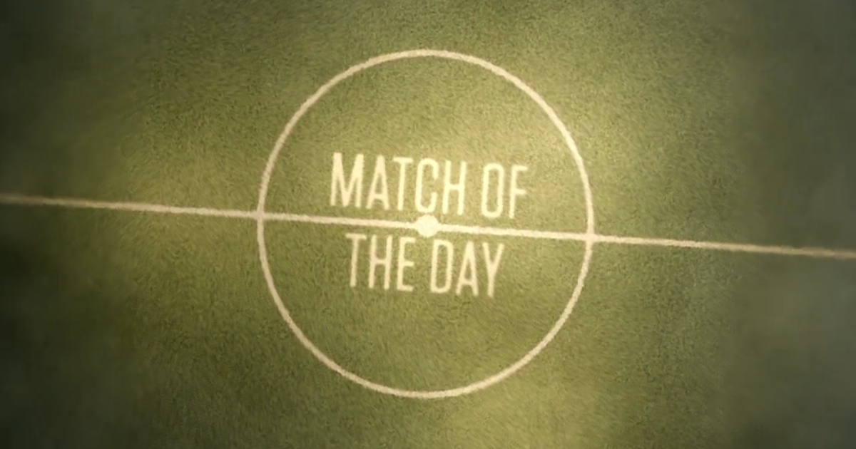 Match of the Day TV: BBC Match of the Day - 31/12/2016