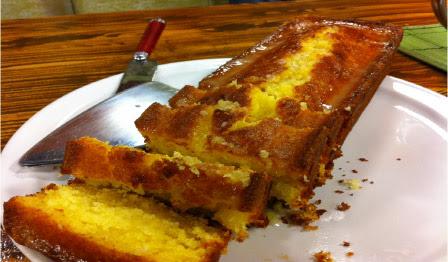 Torta de limon casera