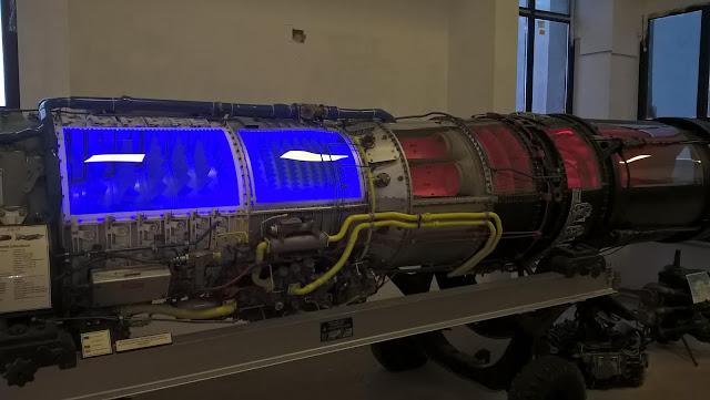 Turbo Jet Savaş Uçağı Motoru